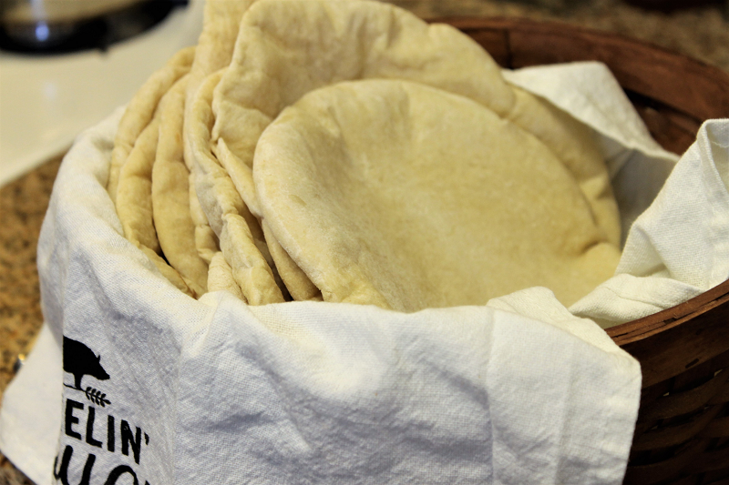 Flatbread – Cooked Three Ways