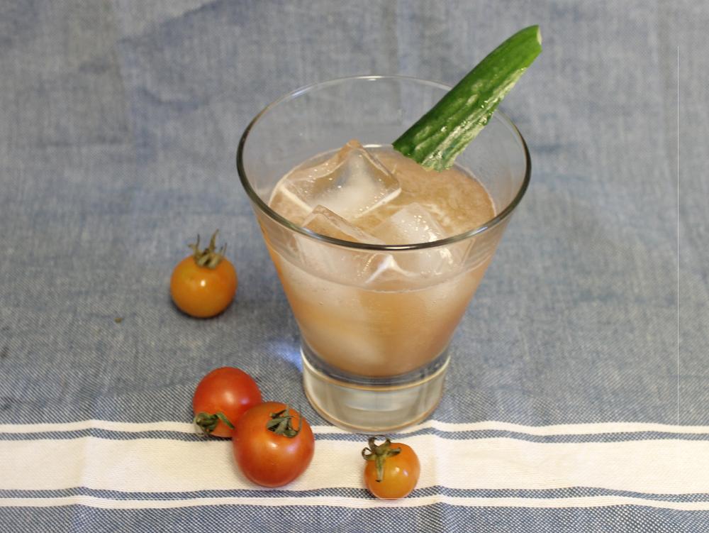 Lemongrass Basil Lemonade and The Tomato Tipple
