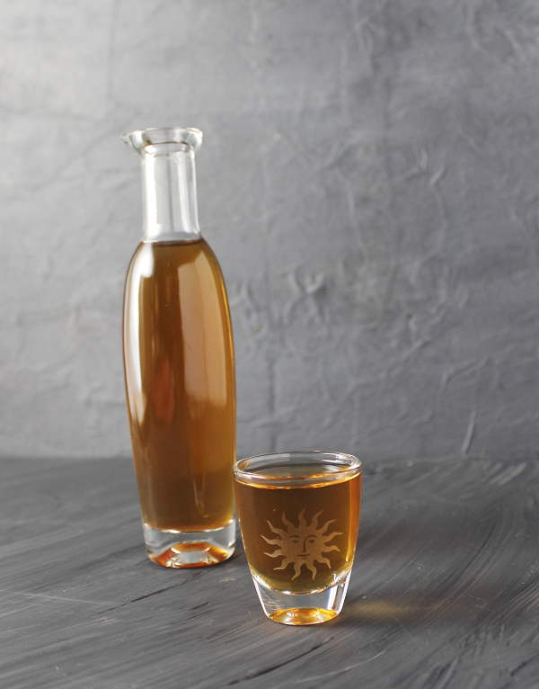 Lemon tea liqueur