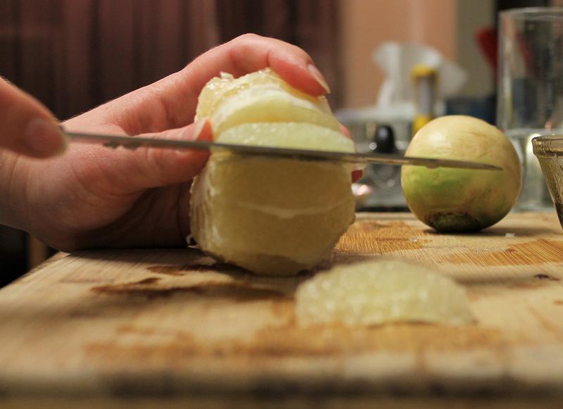 Segmenting citrus