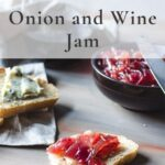 Pin for onion wine jam