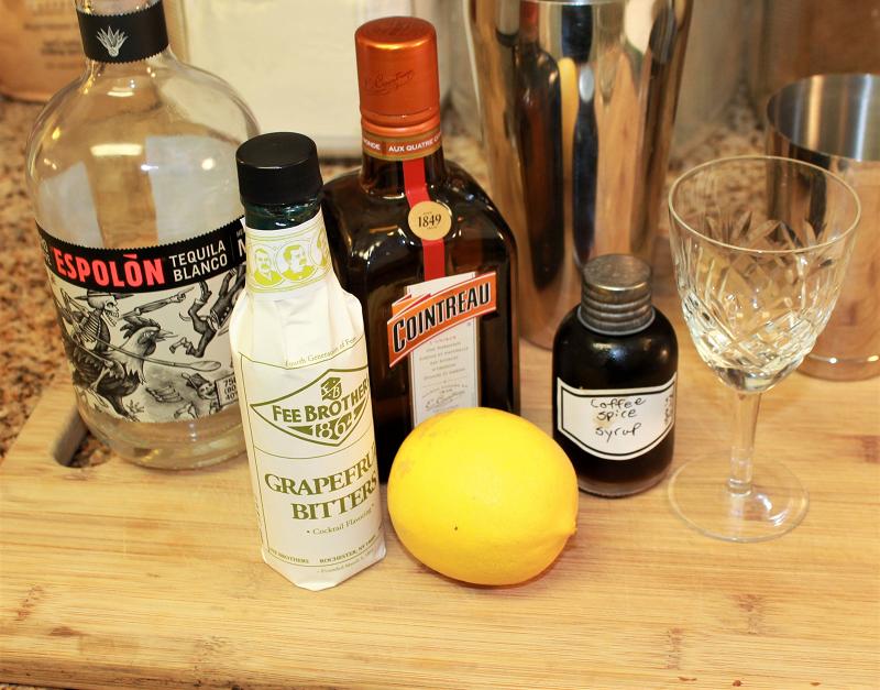 Critrine coffee cocktail ingredients