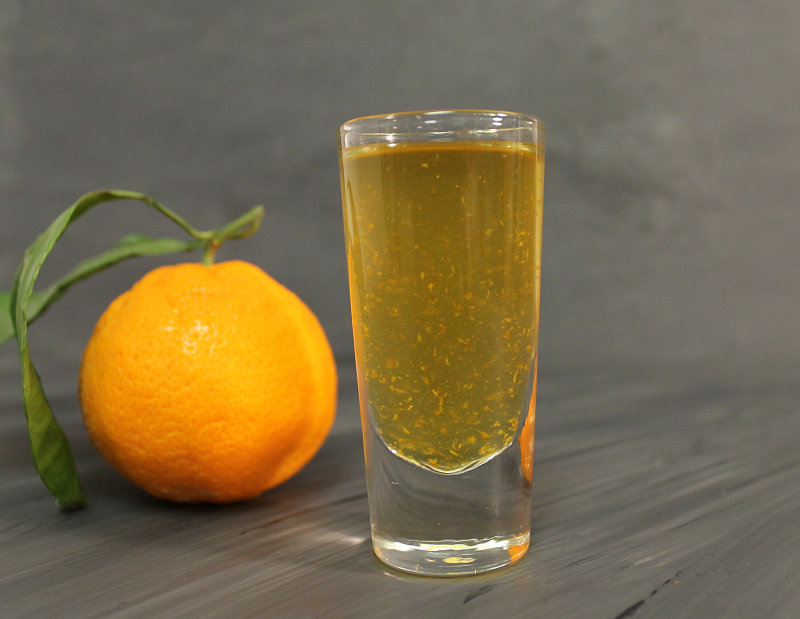 Mandarin thyme syrup