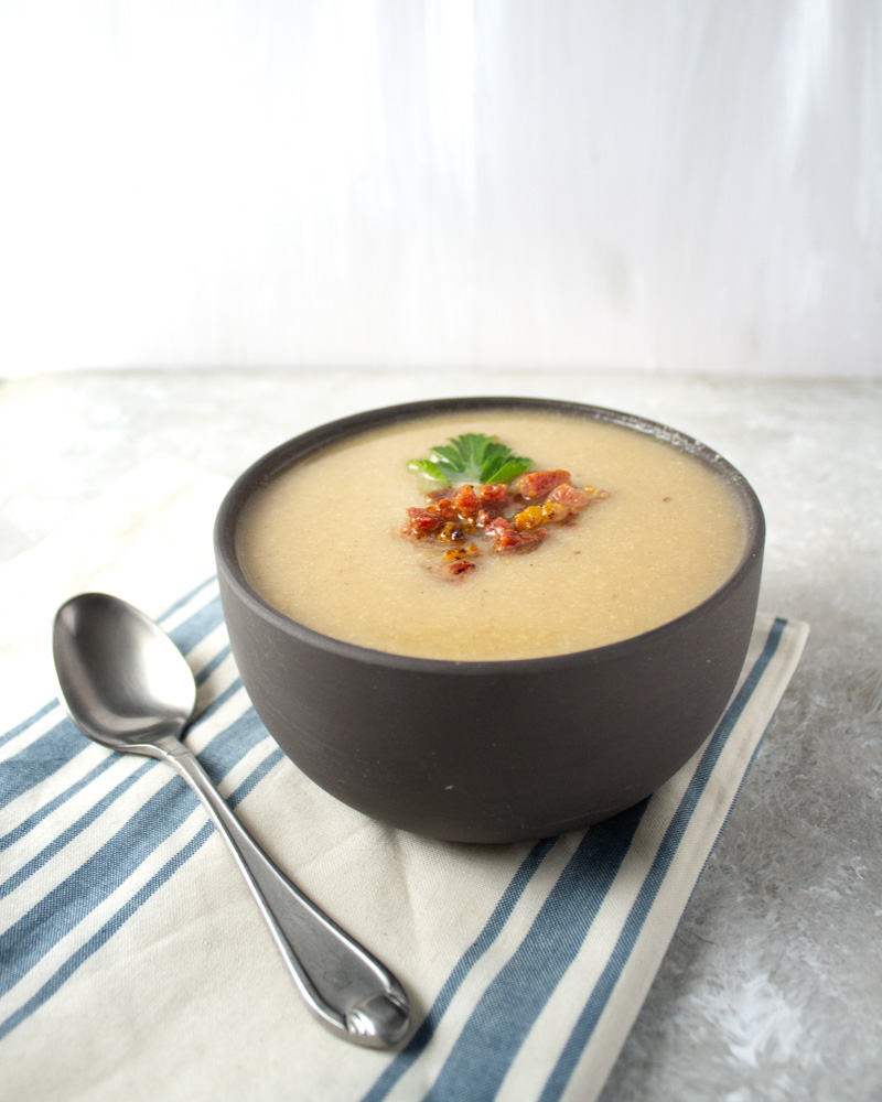 Cauliflower and Parsnip Soup