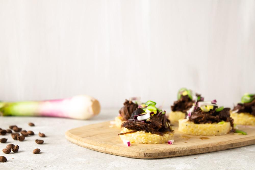 Lamb and Polenta Bites