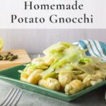 Homemade gnocchi with fennel cream Sauce