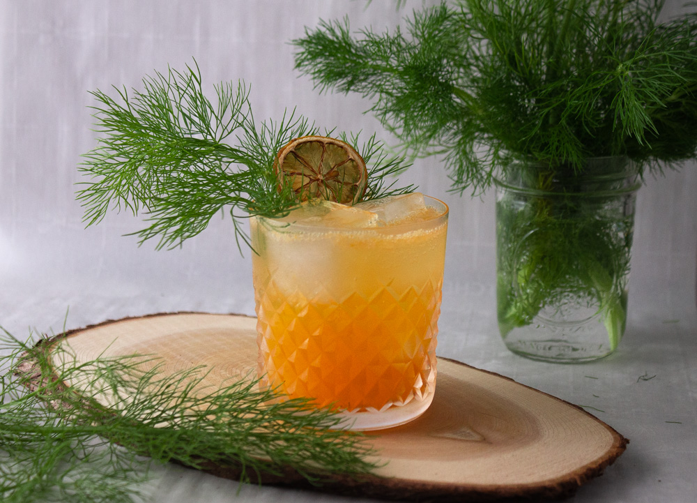 Is It Spring Yet? – a Mandarin Fennel Mocktail