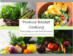 Cover for produce basket cooking