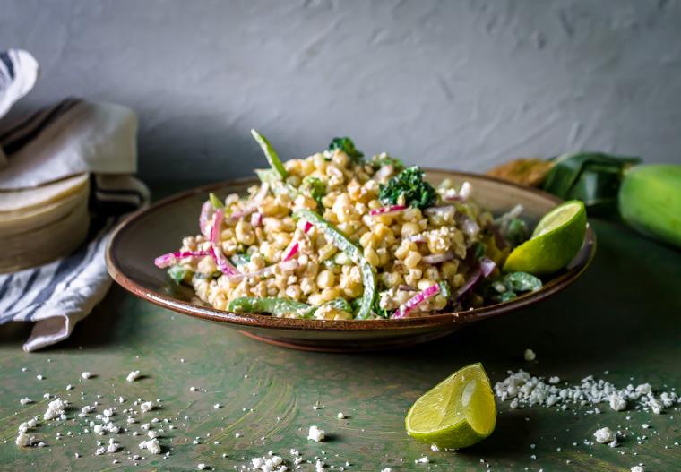 Mexican Street Corn (Elote) Salad