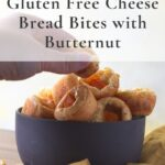 bowl of tapioca cheese bread with butter nut