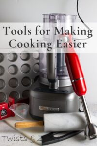 Kitchen tools for easy cooking pin