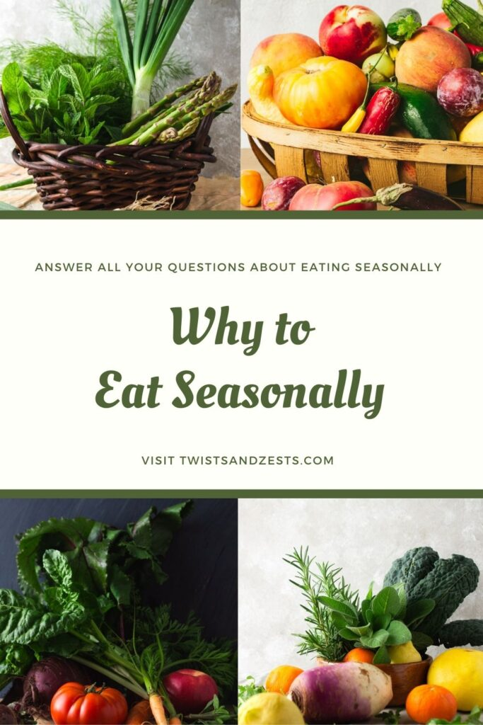 Why to eat seasonally Pin